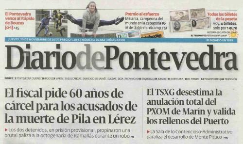 Diario, 30 novembro 2017