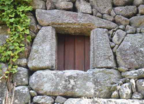 Muíño do Sacristán, en San Xián de Marín