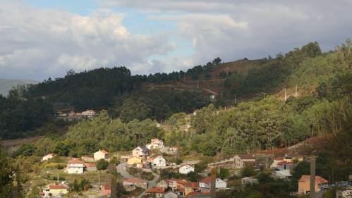 Ruta polo patrimonio de San Xián: vistas ao Monte Pituco (Pornedo)