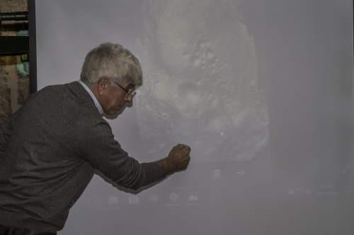 'Barferencia' de Antonio Costa nas Xornadas de protección e posta en valor do patrimonio de San Xián