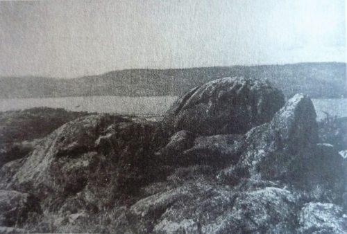 Fotografía histórica da 'Silla de Champás'
