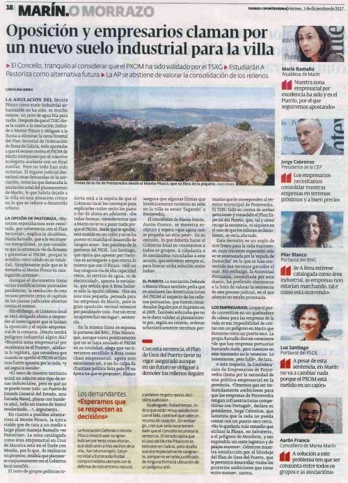 Diario, 1 decembro 2017