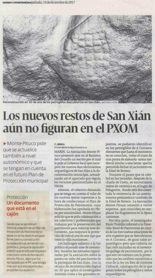 Diario, 16 decembro 2016