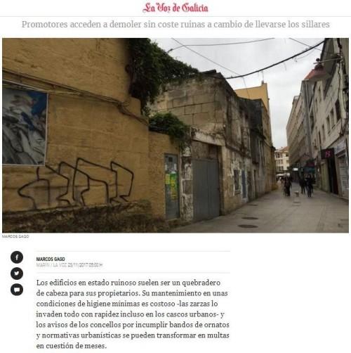 La Voz, 23 novembro 2017