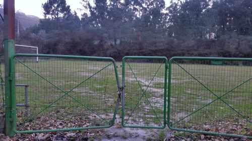 Campo de fútbol de San Xulián xestionado pola Comunidade de Montes