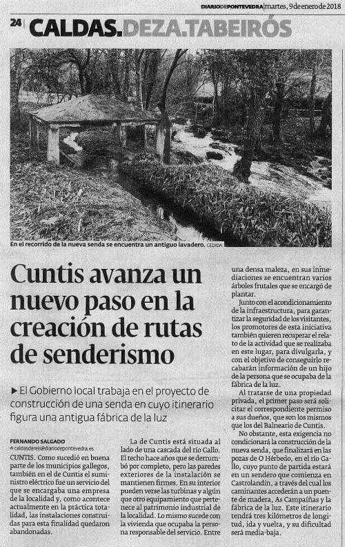 Diario, 9 xaneiro 2018
