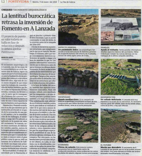 La Voz, 9 xaneiro 2018