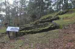 Primeiras cabanas excavadas no castro da Subidá