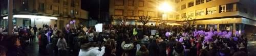 Manifestación 8M Marín