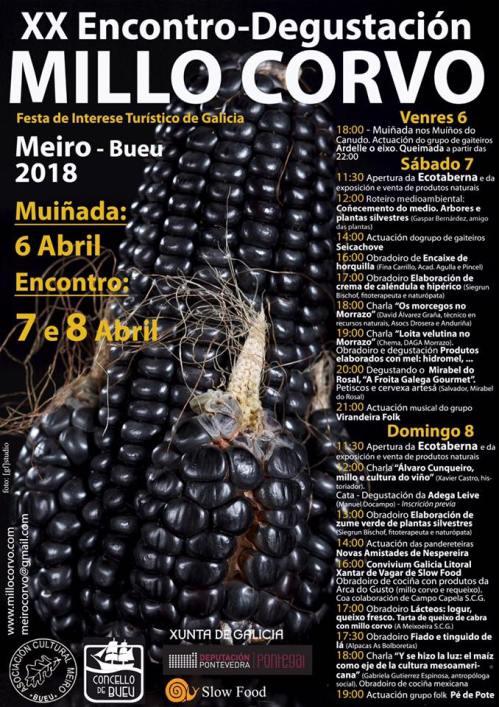 20º Encontro-Degustación do Millo Corvo
