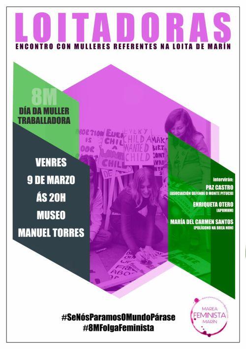 Encontro da Marea Feminista de Marín: Loitadoras