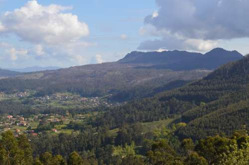 Monte de Couso, en Gondomar