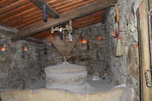 Muíño do Canudo, en Meiro (Bueu)