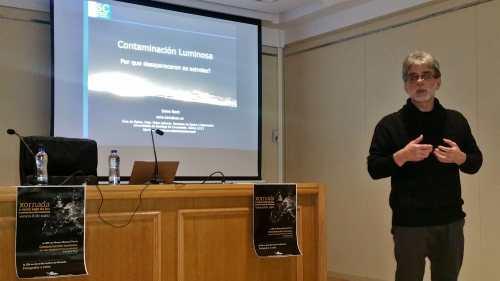 Salvador Bará, experto en contaminación luminosa