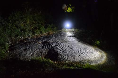 Fotografía nocturna no Monte Pituco