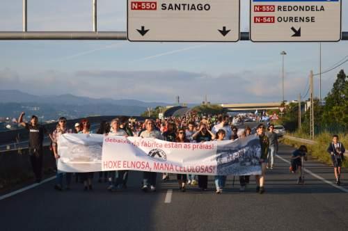 Marcha da APDR contra Ence-Elnosa, 2018