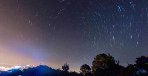 Fotografía nocturna no Pornedo (Antonio Costa)