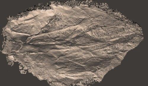 Reconstitución 3D realizada por Antonio Costa