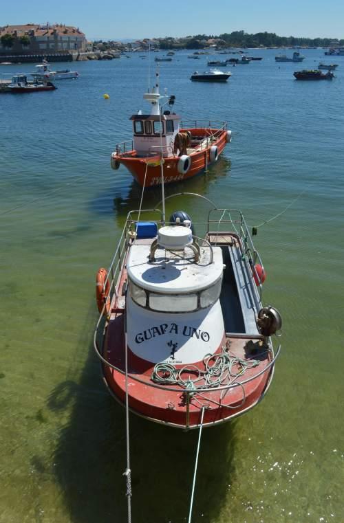 A Illa de Arousa, agosto 2018
