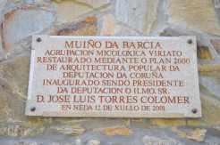 Muíño da Barcia, río Belelle, Neda