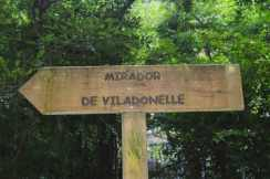 Sinaléctica na ruta do río Belelle, Neda