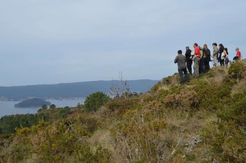 II Xornadas de Patrimonio de San Xián: ruta polo Monte Pornedo.