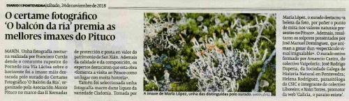 Diario. 24 novembro 2018