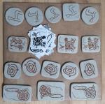 Así se fixeron en Alén das olas as pezas cerámicas para o certame 'O Balcón daRía'