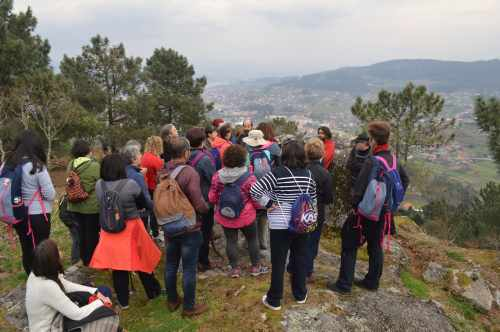 Vista do Monte Pituco dende Penizas