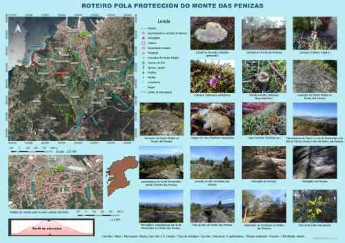 Ruta polo Monte das Penizas (Plataforma Montes do Morrazo)