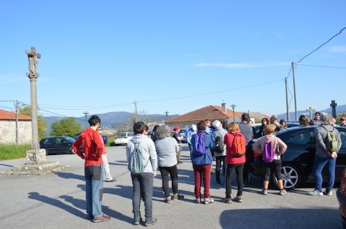 Ruta por Salcedo coa Plataforma Montes do Morrazo