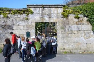 Entrada da Casa Reitoral de San Martiño de Salcedo