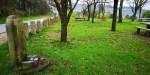 Falta de mantemento das tres fontes da arboreda, que botan auga a cañolibre