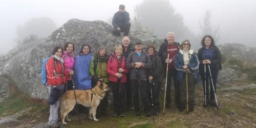 Ruta polo Espazo Sete Camiños con seideiristas de Negreira, Compostela e Cerceda