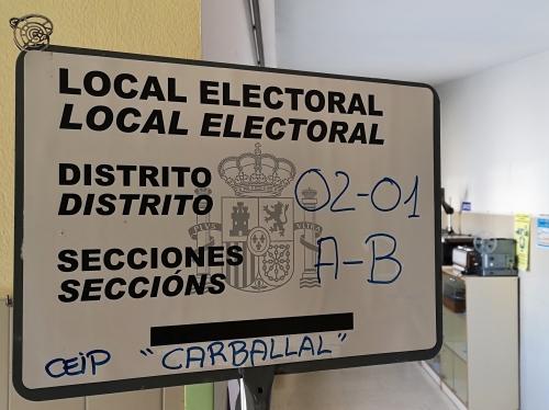 Eleccións xerais, abril 2019