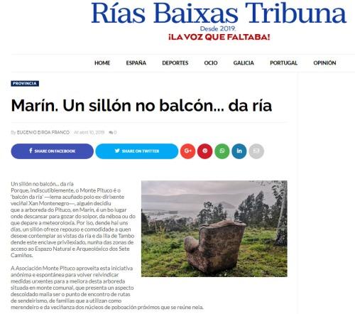 Rías Baixas Tribuna, 10 abril 2019