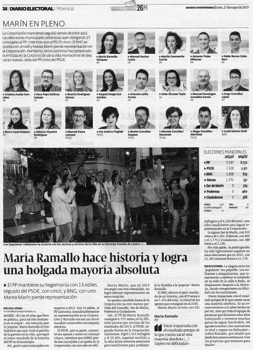 Diario, 27 maio 2019