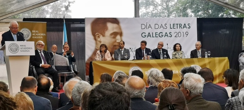 Día das Letras Galegas dedicado a Antonio Fraguas, con Francisco Díaz-Fierros