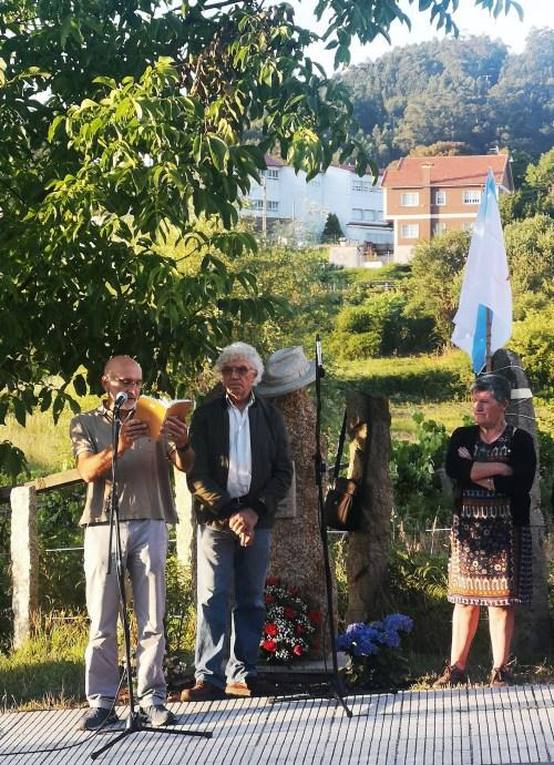 Homenaxe a Xan Montenegro no seu 8º cabodano
