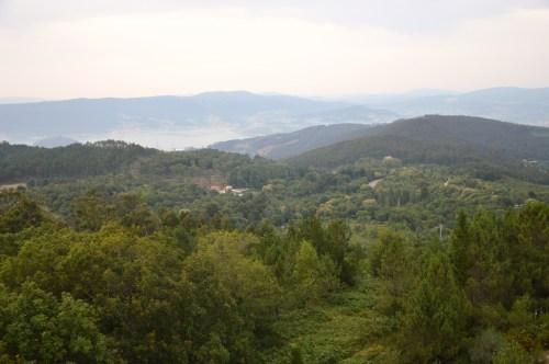 Vista do Pituco, ao fondo, dende Cotorredondo