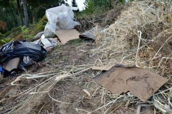 Restos de poda e outros residuos