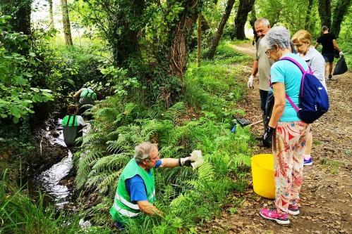 19ª Campaña de limpeza do Gafos, con Vaipolorío