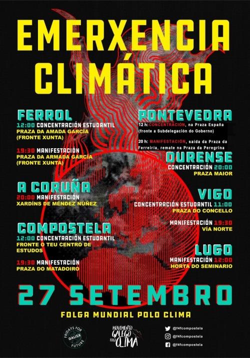 27-S: Folga Mundial polo Clima