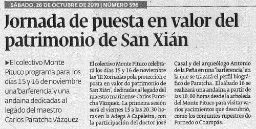 Diario, 26 outubro 2019