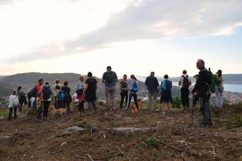 Andaina polo Monte Pituco ao solpor, outubro 2019