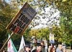 """Manifestación en Compostela """"Por un monte galego confuturo"""""""