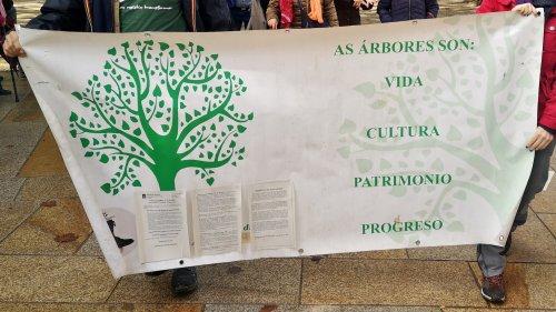 "Manifestación en Compostela ""Por un monte galego con futuro"""