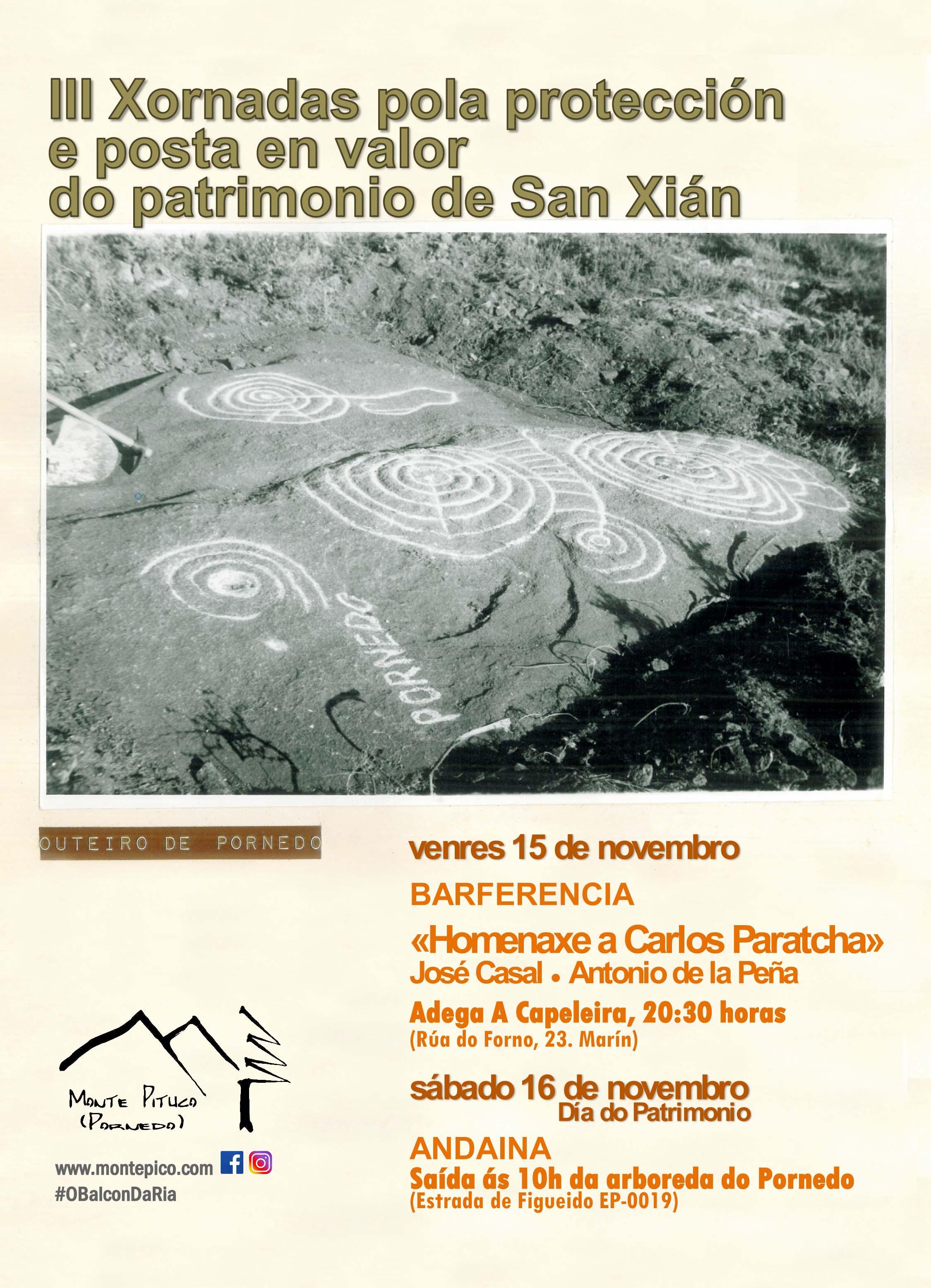III Xornadas de Patrimonio de San Xián
