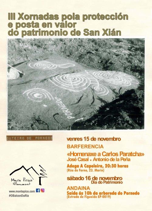 III Xornadas pola protección e posta en valor do patrimonio de San Xián